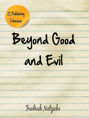 Beyond Good and Evil (PDF)