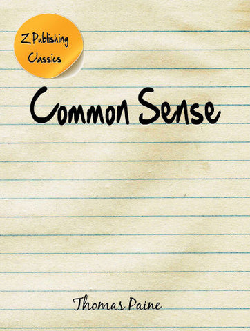 Common Sense (EPUB)
