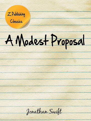 Modest Proposal (EPUB)