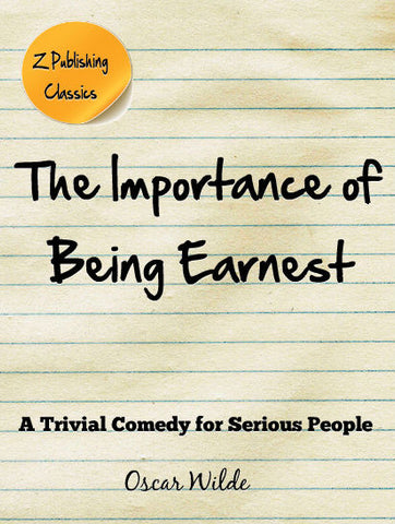 Importance of Being Earnest (PDF)