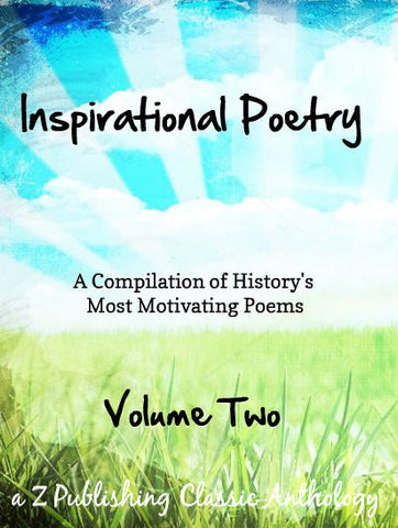 Inspirational Poetry: Volume Two