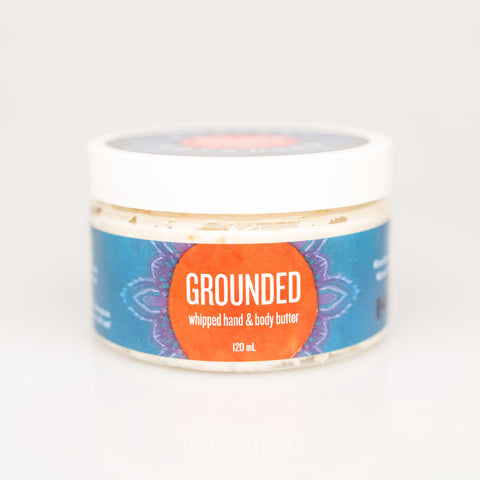 GROUNDED whipped hand & body butter - 120ml