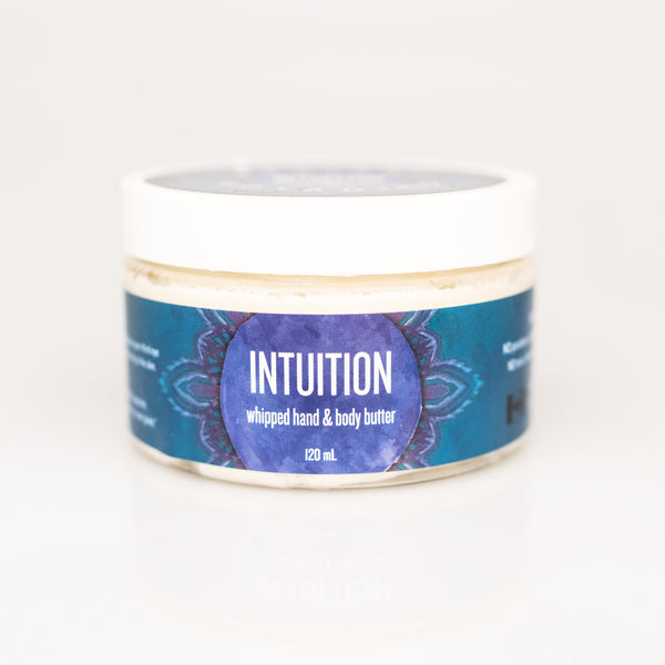 INTUITION whipped hand & body butter - 120ml
