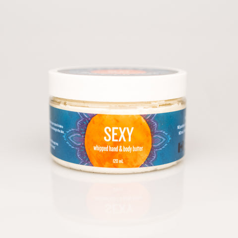 SEXY whipped hand & body butter - 120ml