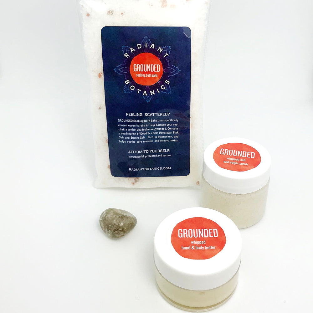 GROUNDED Root Chakra Sample Kit