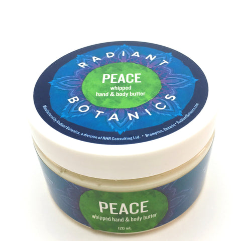 PEACE whipped hand & body butter - 120ml