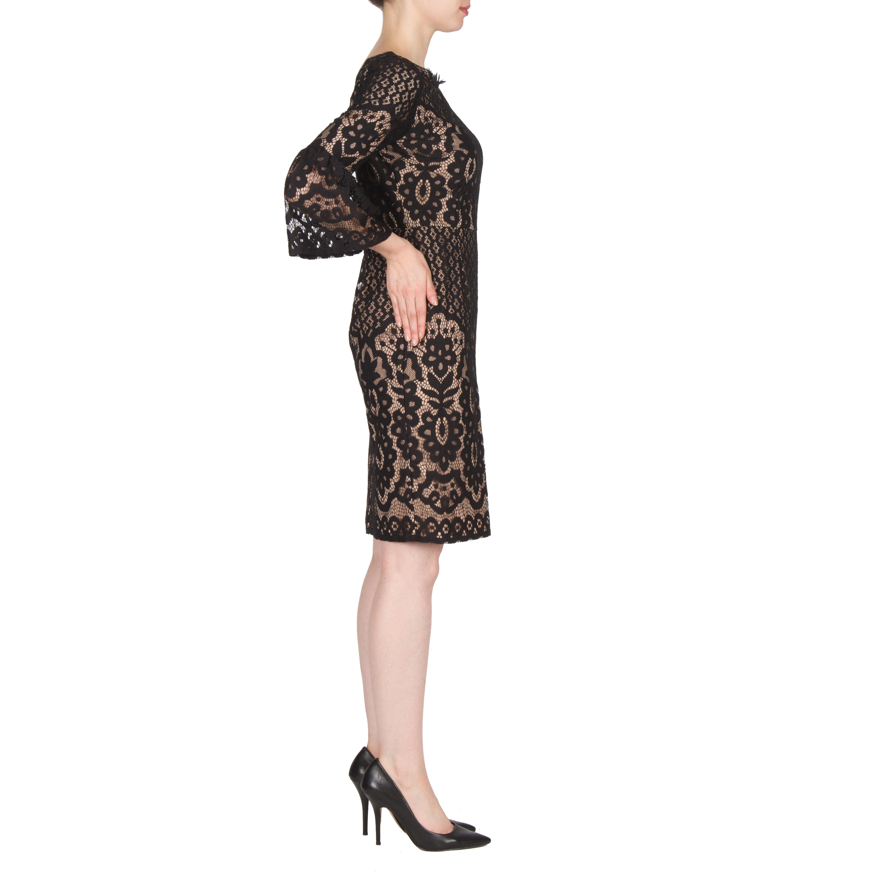9d4fd3634a ... Joseph Ribkoff 173531 Lace Dress - Villique ...