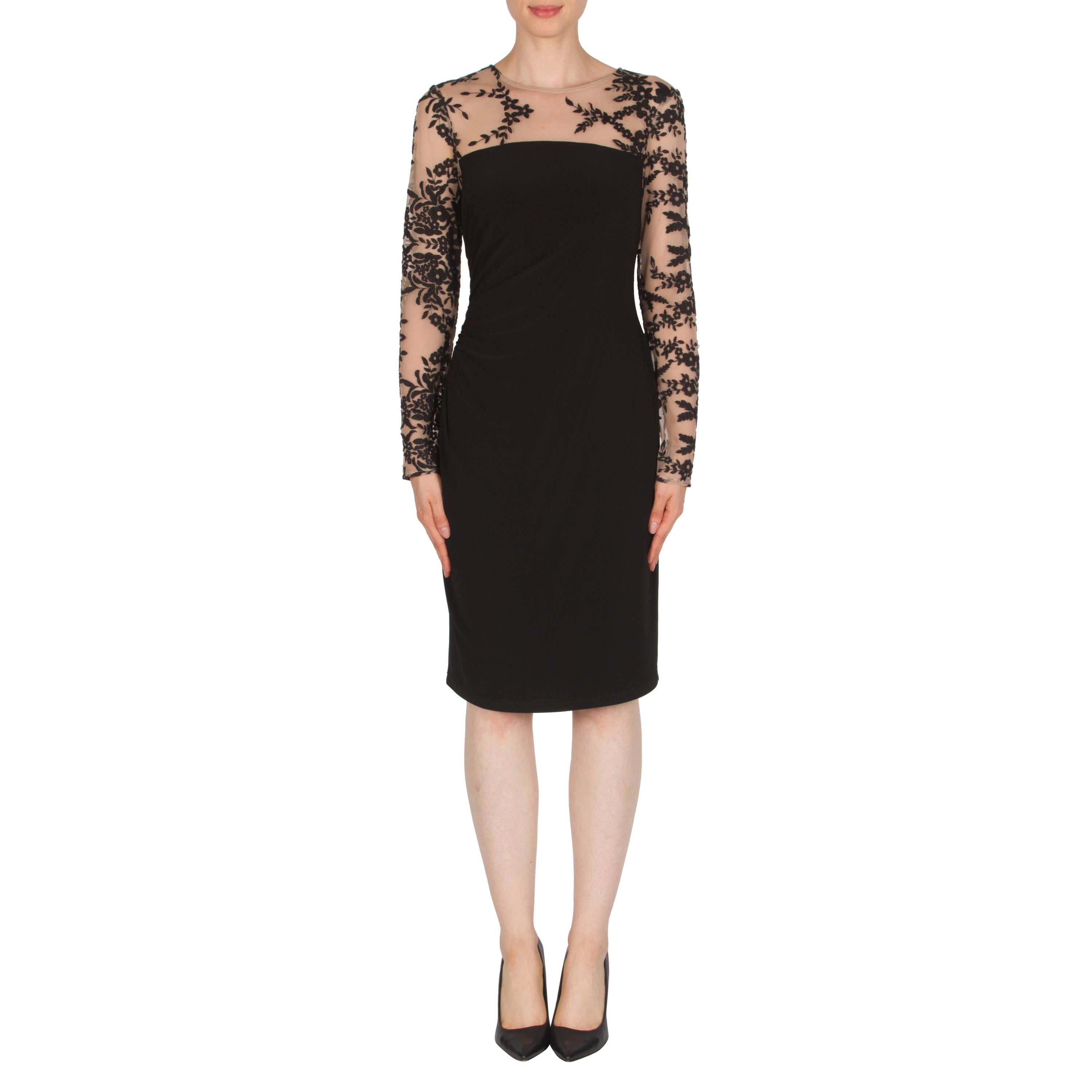 25df81c2ce Joseph Ribkoff 174520 Lace Slve Dress - Villique ...