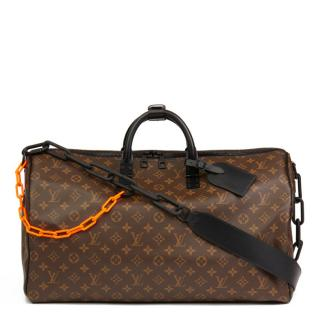 Louis Vuitton | Virgil Abloh Monogram Keepall Bandouliere 50 | M44471 - The-Collectory