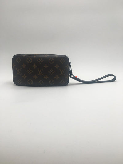 Louis Vuitton Pochette Volga Monogram with Black Hardware - The-Collectory