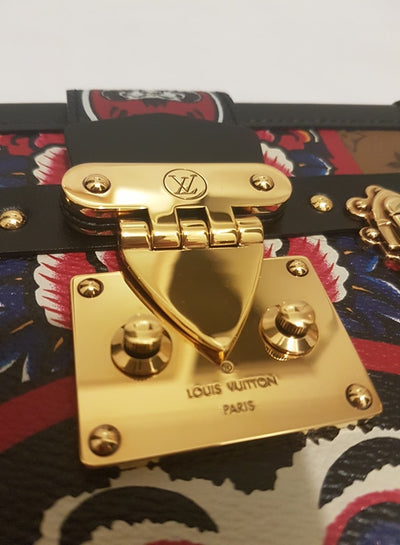 Louis Vuitton | Reverse Monogram Kabuki Petite Malle | M43498 - The-Collectory
