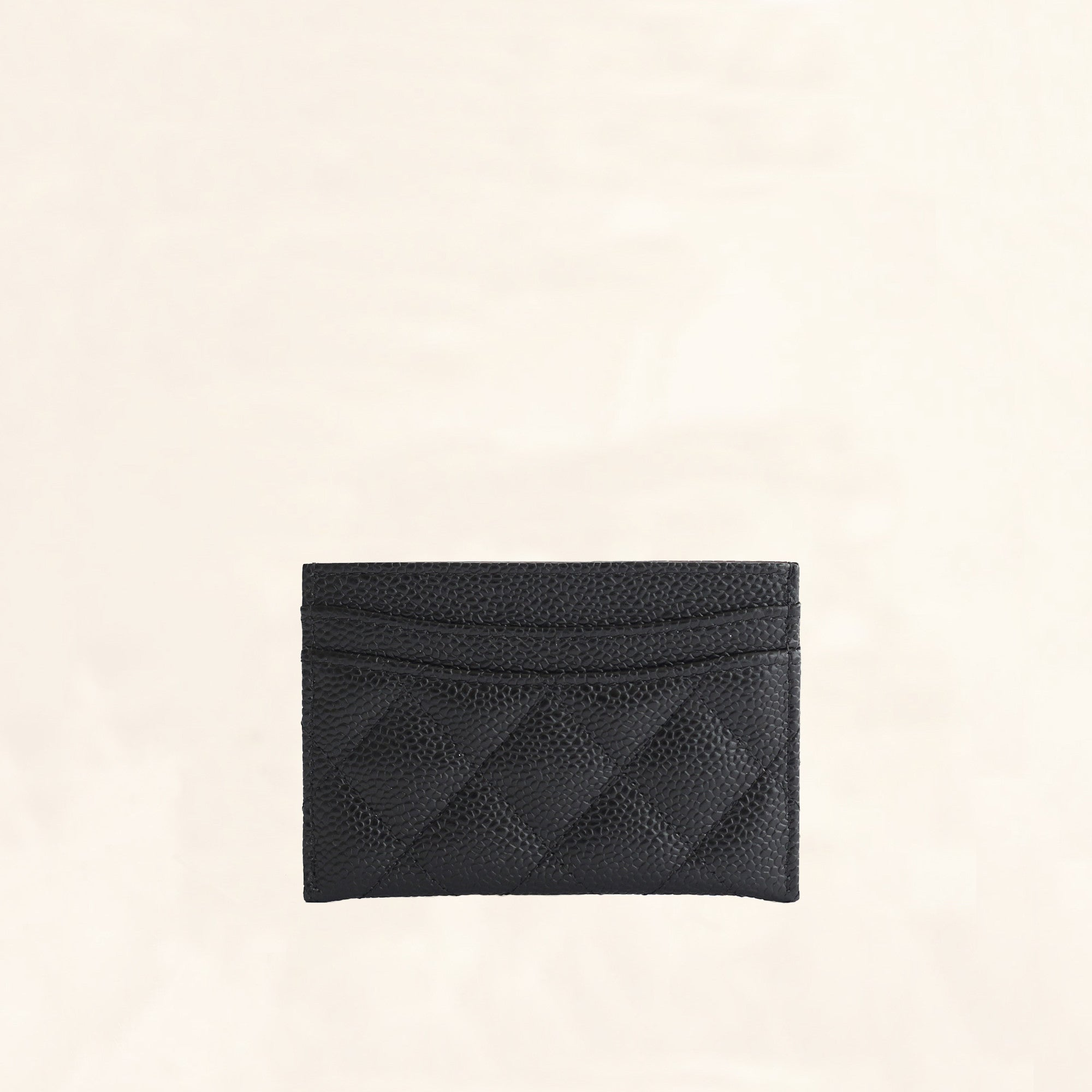 07a05c14eee1 Chanel | Caviar Card Holder with SHW | One Size - The-Collectory
