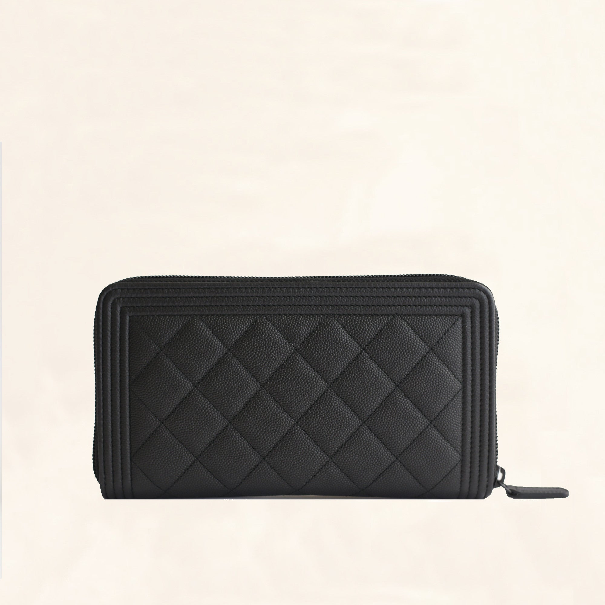 chanel zip coin purse. chanel | caviar so black boy long zip wallet large - the-collectory coin purse