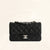 Chanel | Lambskin Classic Flap with Silver Hardware | Mini