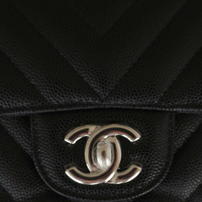 Chanel Caviar Rectangular Flap Bag Mini The Collectory