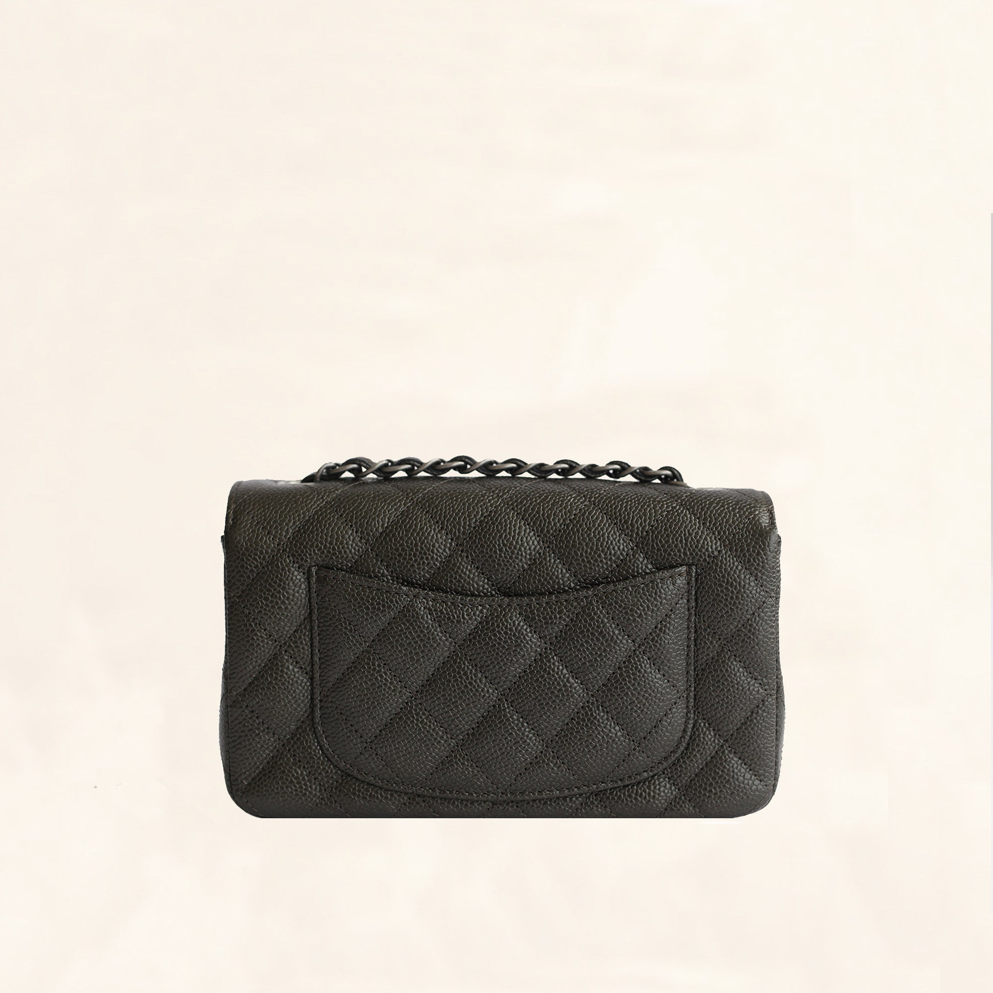 cf2cda93 Chanel | Caviar Mini Rectangular Flap Bag | Black– The-Collectory