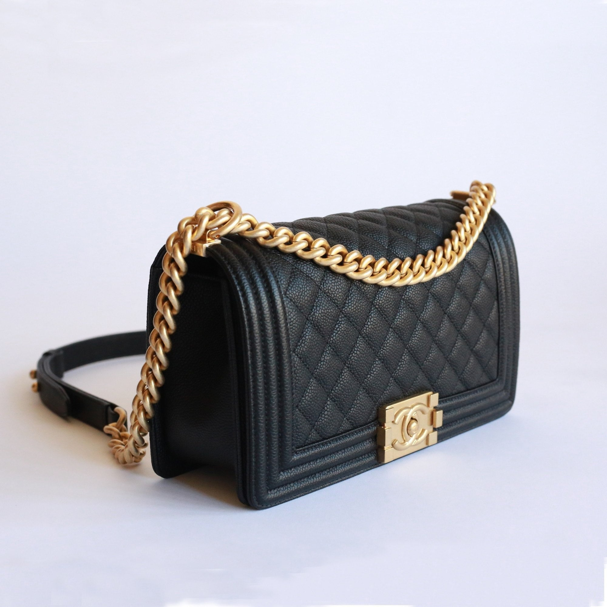 5aa704e8d194 Chanel Boy Bag Caviar Old Medium | Stanford Center for Opportunity ...