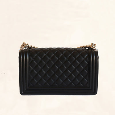 Chanel | Lambskin Leather Boy Flap Bag | Old Medium - The-Collectory