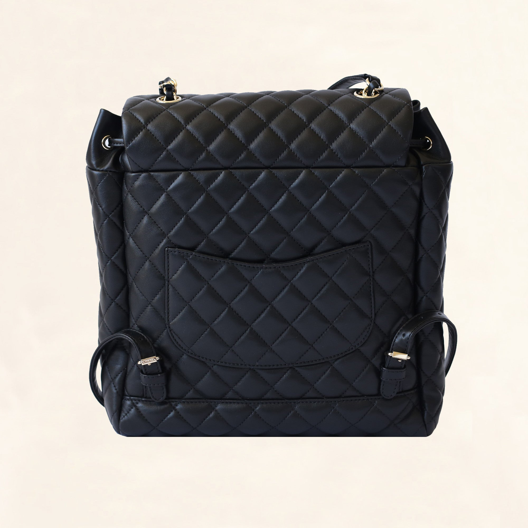 5cd3001ed068 Chanel | Quilted Lambskin Urban Spirit Backpack GHW | Large - The-Collectory