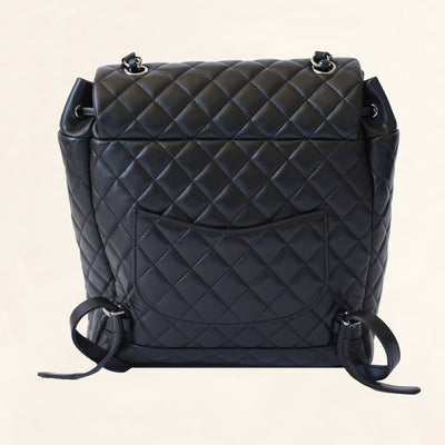 Chanel | Quilted Lambskin Urban Spirit Backpack SHW | Large