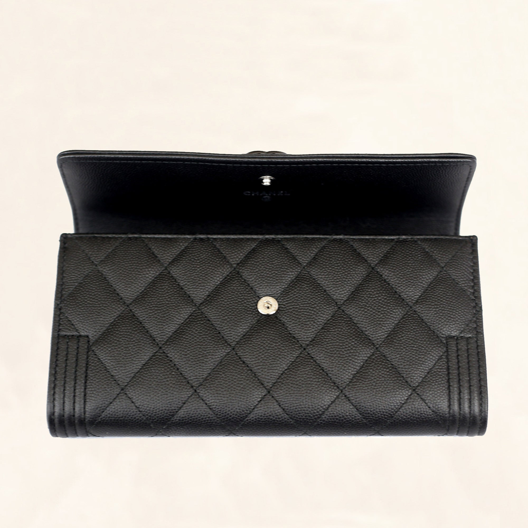 c858b0924742fb Chanel Boy Long Wallet Caviar | Stanford Center for Opportunity ...