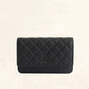 Chanel | Classic So Black Wallet on Chain | WOC - The-Collectory