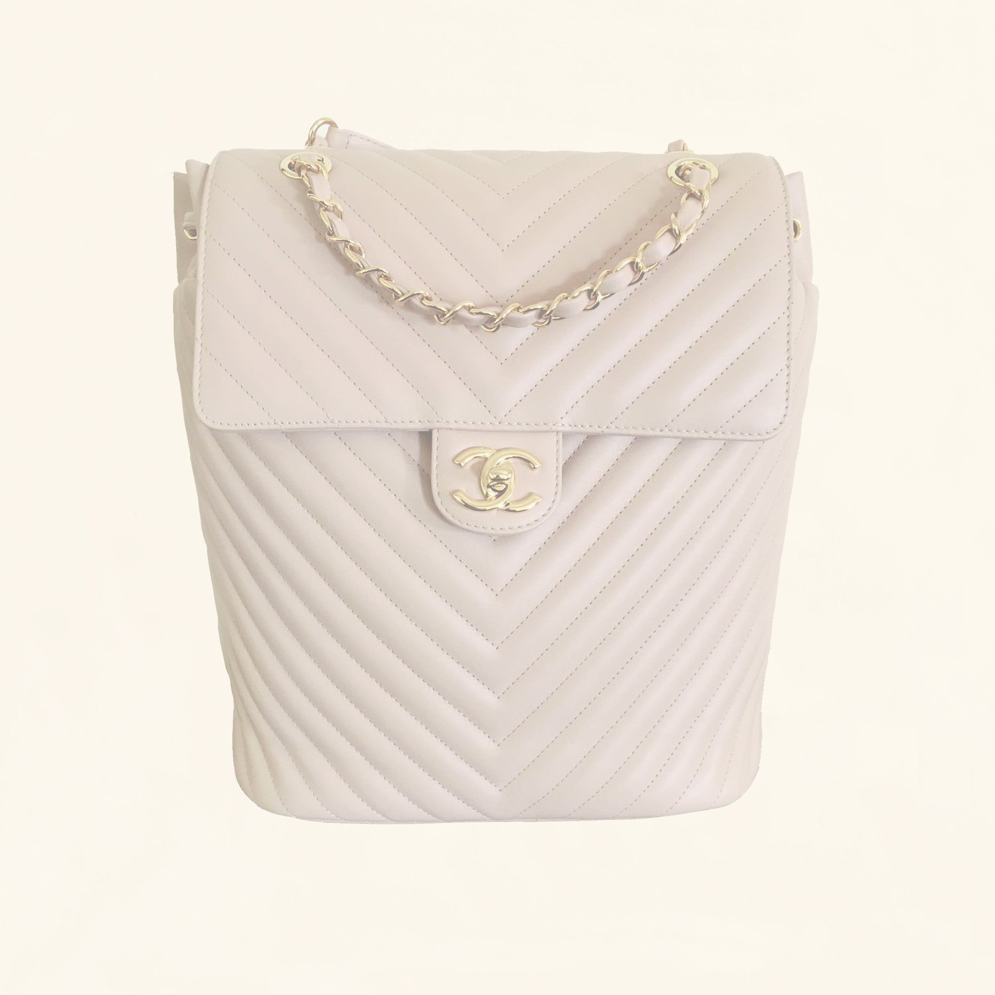 0f7e5296889f Chanel | Chevron Urban Spirit Backpack | Large - The-Collectory