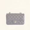 Chanel | Caviar Rectangular Classic Flap in Purple | Mini - The-Collectory