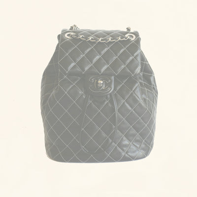 Chanel | Lambskin Quilted-Stiched Backpack | Small - The-Collectory