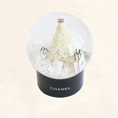 Chanel | Snow Globe Christmas Tree & Presents | Medium - The-Collectory