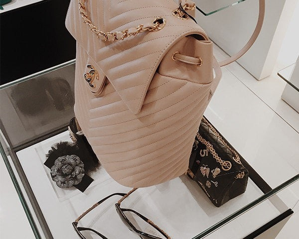 7484a7bf105a Chanel | Lambskin Urban Spirit Backpack | Large - The-Collectory