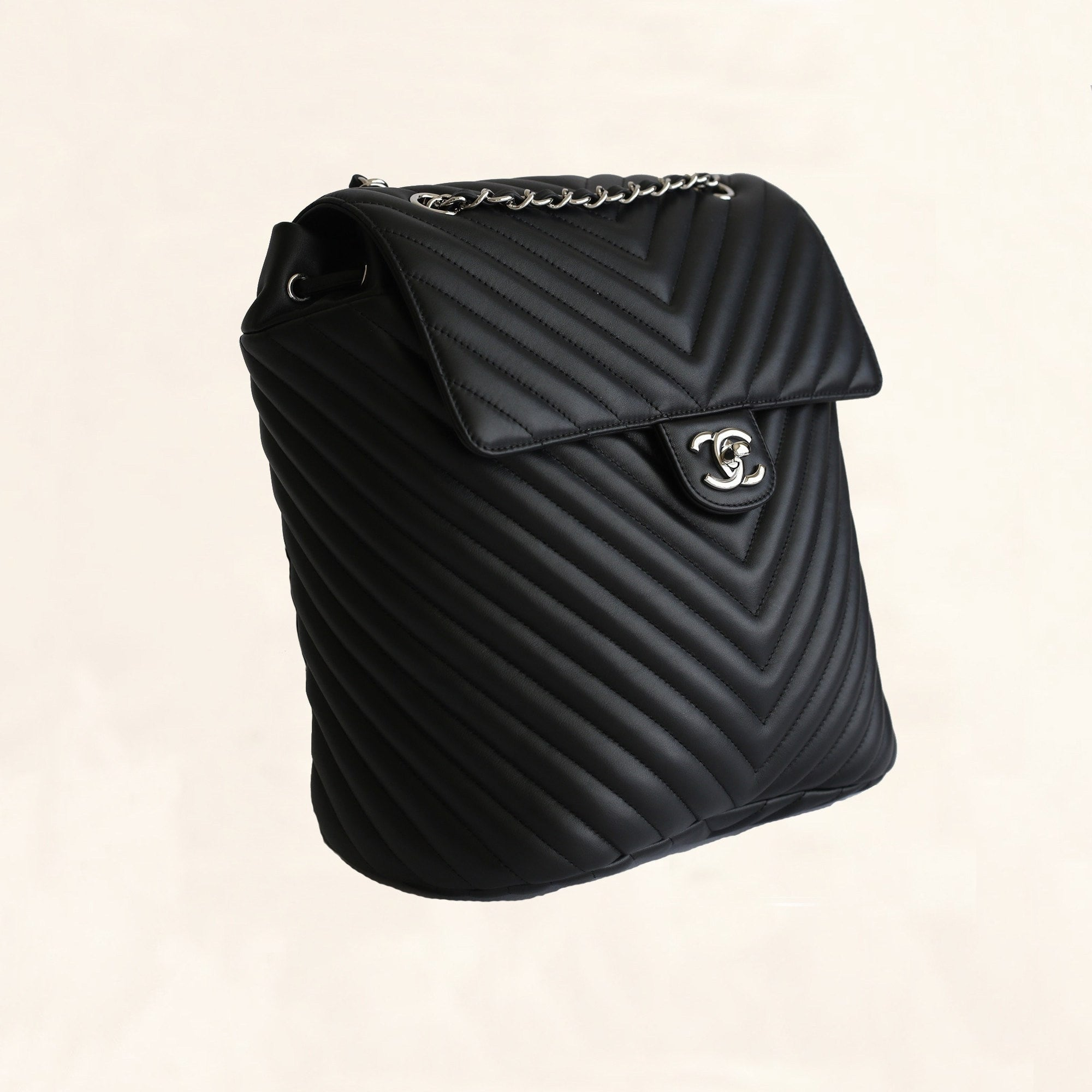 chanel backpack. chanel | chevron urban spirit backpack large - the-collectory i