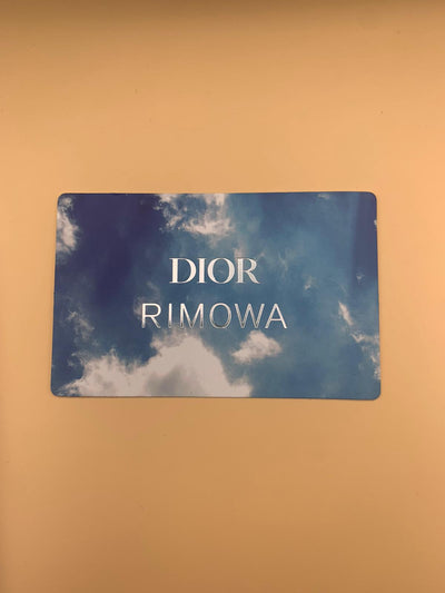 Dior Rimowa Cabin Aluminium Suitcase- Pre Launch Release - The-Collectory