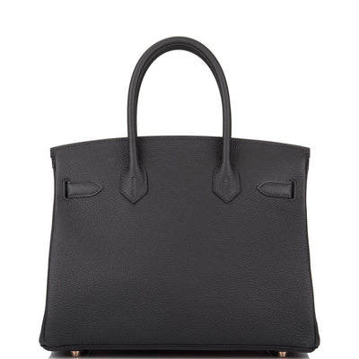 Hermes | Black Togo Birkin with Rose Gold Hardware | 30 - The-Collectory