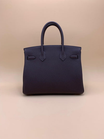 Hermès | Chocolat Togo Birkin with Gold Hardware | 30 - The-Collectory