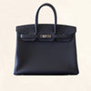 Hermès | Graphite Togo Birkin with Palladium Hardware | 35 - The-Collectory