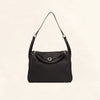 Hermes | Black Clemence Medium Lindy | 30 - The-Collectory