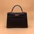 Hermes Black Epsom Kelly Sellier 32 Palladium Hardware