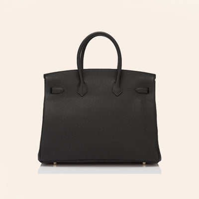Hermès | Black Birkin with Gold Hardware | 35 - The-Collectory