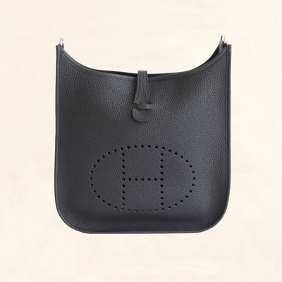 Hermes Evelyne III 29 Black Noir - The-Collectory