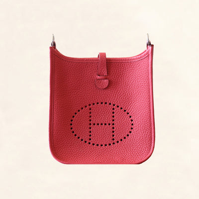Hermès | Clemence Bougainvillier Red Evelyne | TPM - The-Collectory