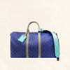 Louis Vuitton | Keepall 45 Monogram Pacific Blue | M43855 - The-Collectory