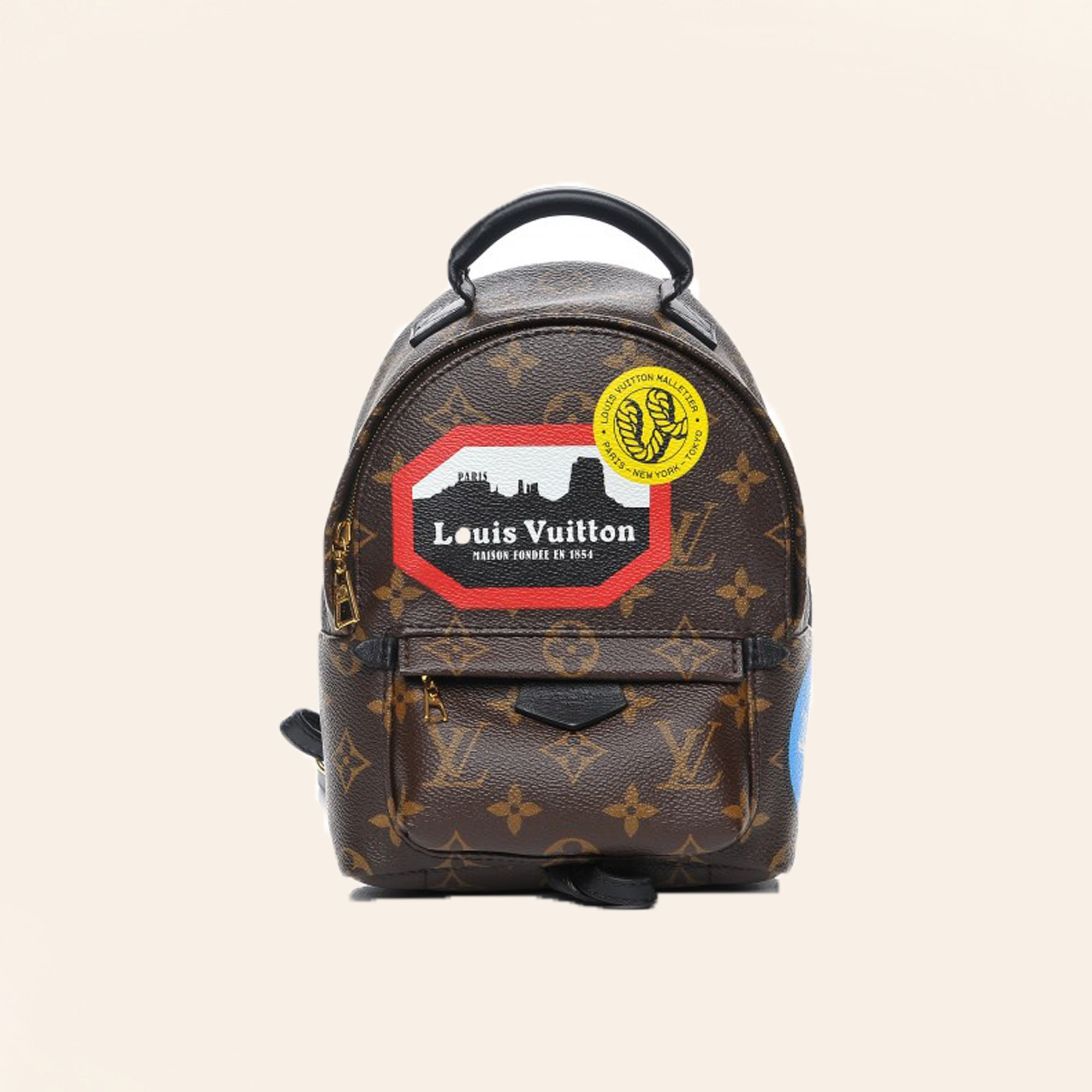 085be84fc8bd Louis Vuitton | World Tour Monogram Palm Springs Backpack | Mini -  The-Collectory