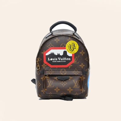 Louis Vuitton | World Tour Monogram Palm Springs Backpack | Mini - The-Collectory
