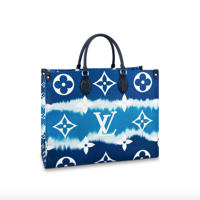 Louis Vuitton Onthego Bleu LV Escale