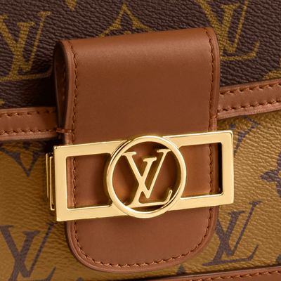 Louis Vuitton Monogram Reverse Mini Dauphine M44580
