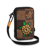 Louis Vuitton | Nigo Double Phone Pouch | N40377
