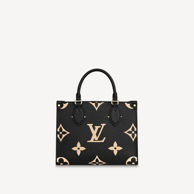 Louis Vuitton Black Empreinte Onthego PM M45495