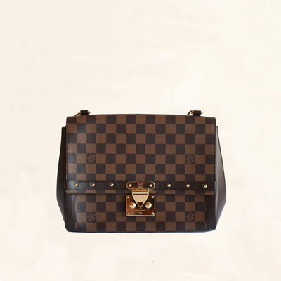 Louis Vuitton | Venice Damier Ebene Handbag | One Size - The-Collectory