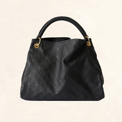 Louis Vuitton | Noir Black Empreinte Artsy | MM - The-Collectory